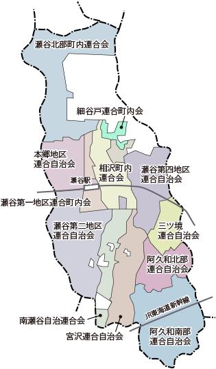 自治町内会エリアマップ